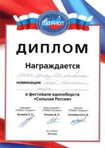 патриот 2016