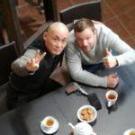 Мастер Ши Янбин и Алексей Чадов