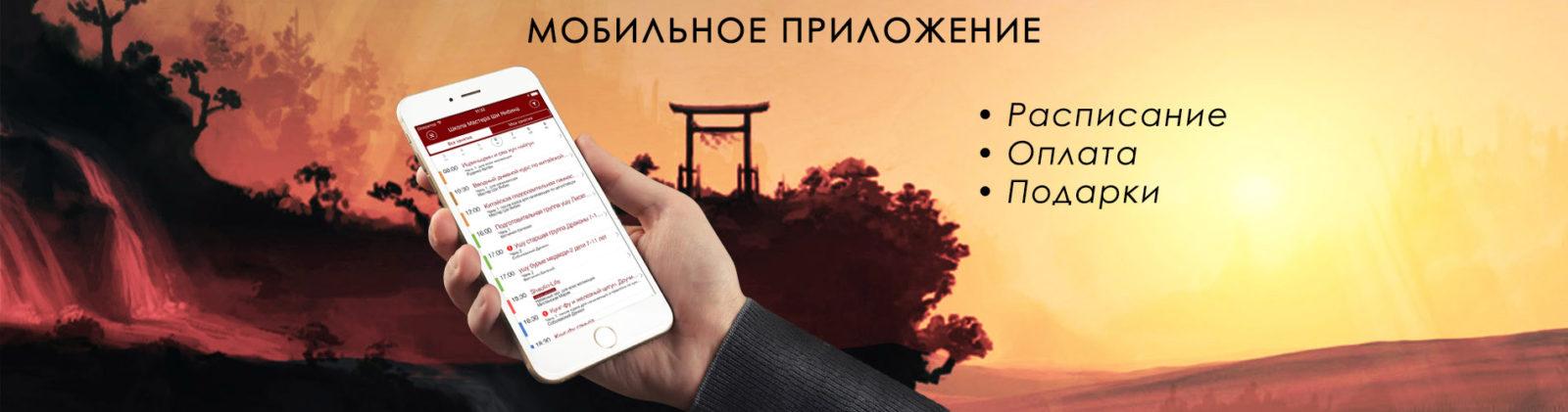 мобильное приложение оплата расписание