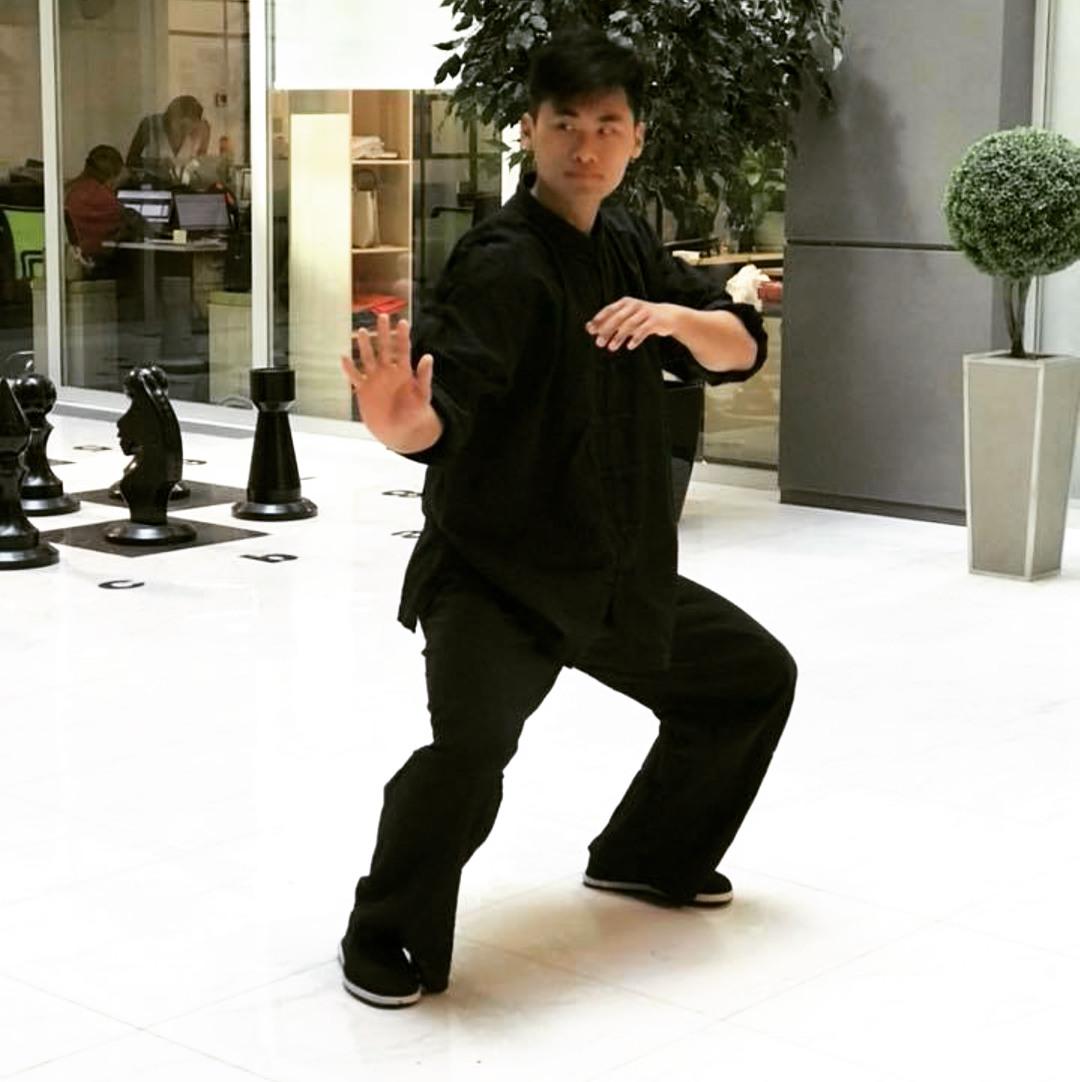 Мастер Ян Пэнчжоу в НДВ