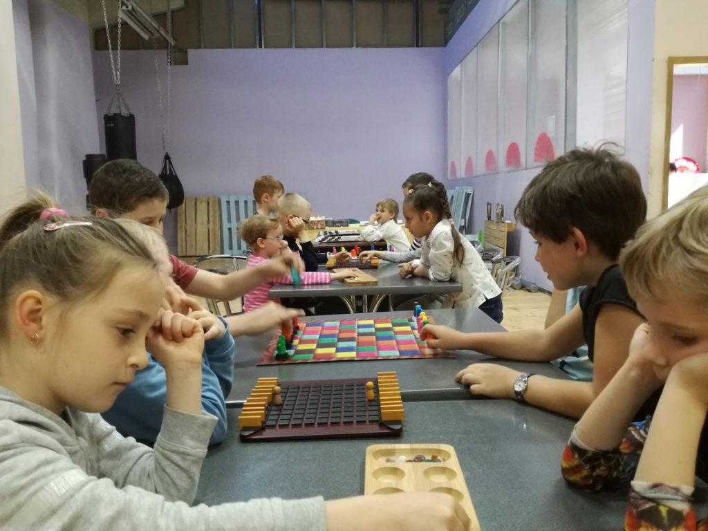 шахматы турнир дети