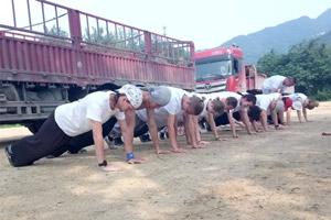 тренировочный сбор шаолинь