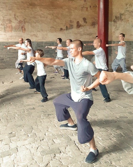 ученики кунг-фу