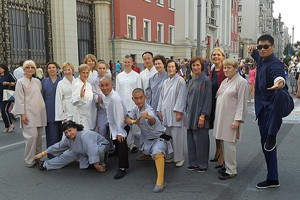 Школа Мастера Ши Янбина на праздновании Дня города Москвы