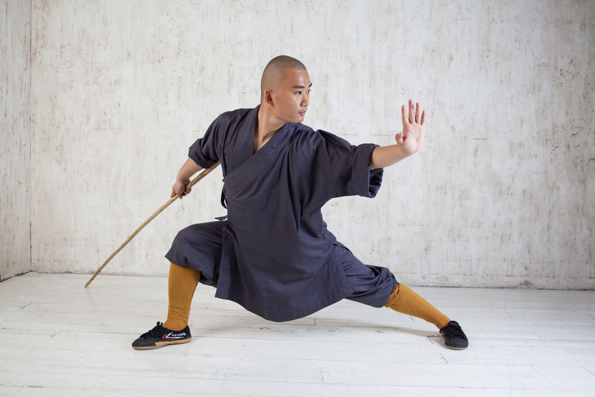 кунг-фу монах